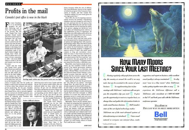 Article Preview: Profits in the mail, June 1989 | Maclean's