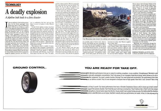Article Preview: A deadly explosion, June 1989 | Maclean's