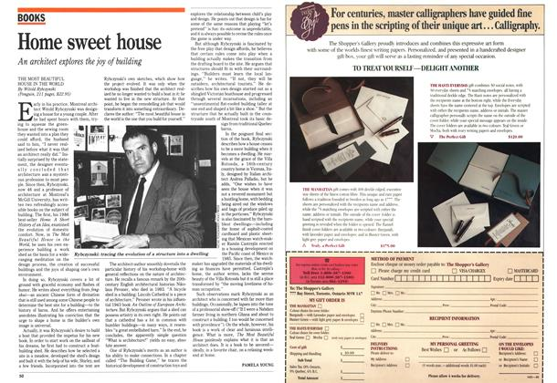 Article Preview: Home sweet house, June 1989 | Maclean's