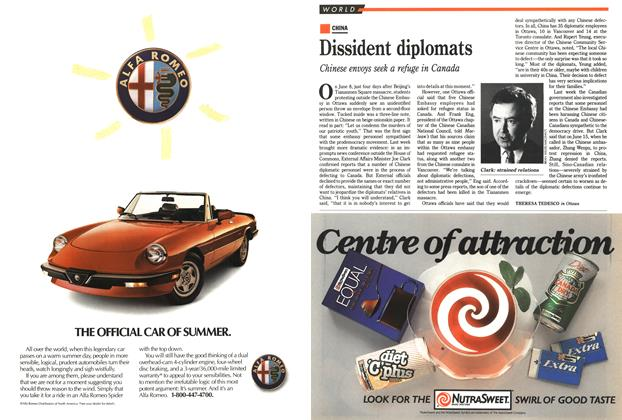Article Preview: Dissident diplomats, June 1989 | Maclean's