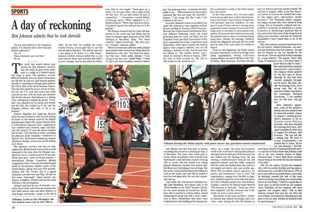 Article Preview: A day of reckoning, June 1989 | Maclean's