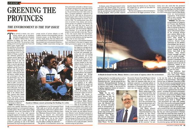 Article Preview: GREENING THE PROVINCES, June 1989 | Maclean's