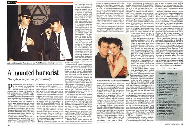 Article Preview: A haunted humorist, June 1989 | Maclean's