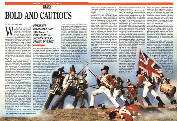 Article Preview: BOLD AND CAUTIOUS, July 1989 | Maclean's