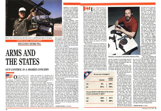 Article Preview: ARMS AND THE STATES, July 1989 | Maclean's