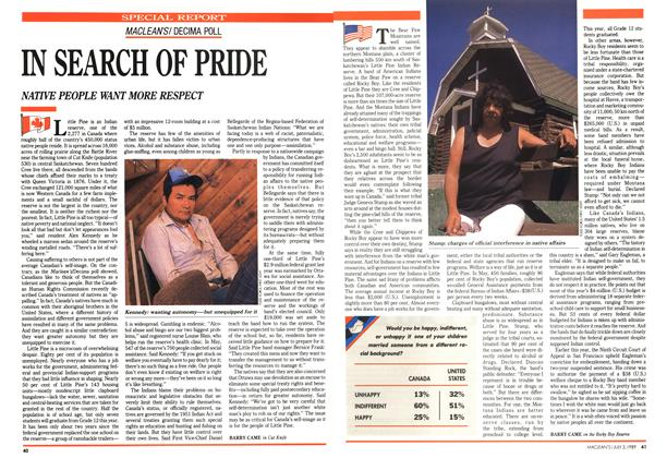 Article Preview: IN SEARCH OF PRIDE, July 1989 | Maclean's