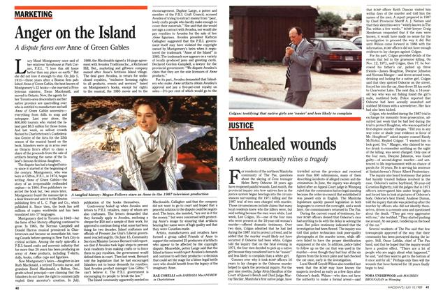 Article Preview: Anger on the Island, July 1989 | Maclean's