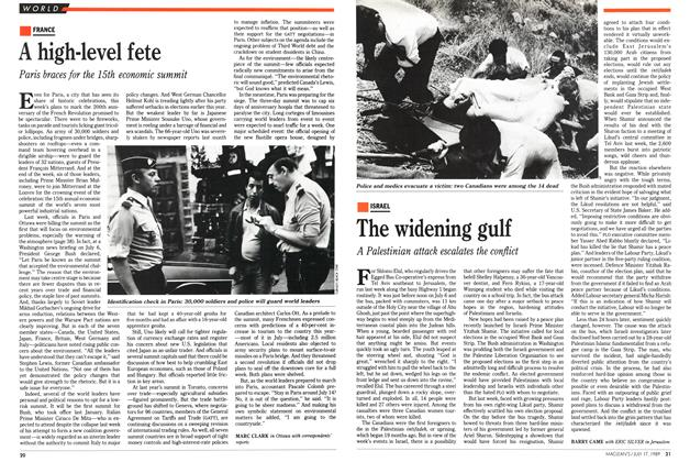 Article Preview: The widening gulf, July 1989 | Maclean's