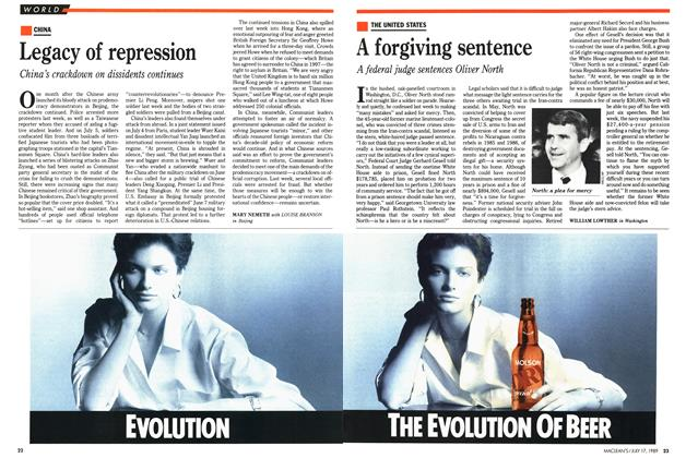 Article Preview: A forgiving sentence, July 1989 | Maclean's