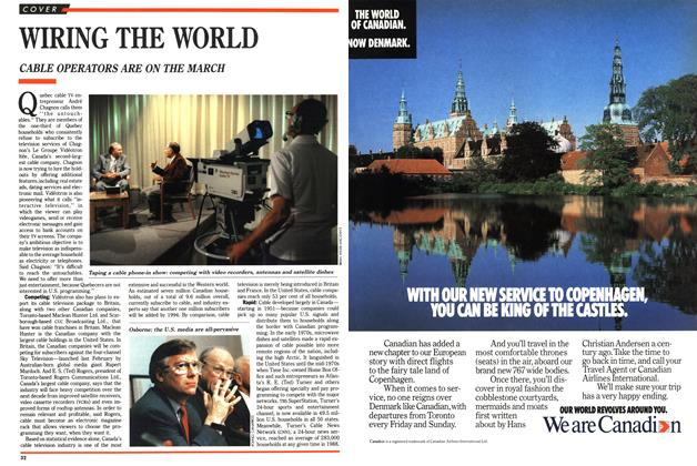 Article Preview: WIRING THE WORLD, July 1989 | Maclean's