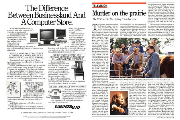 Article Preview: Murder on the prairie, July 1989 | Maclean's