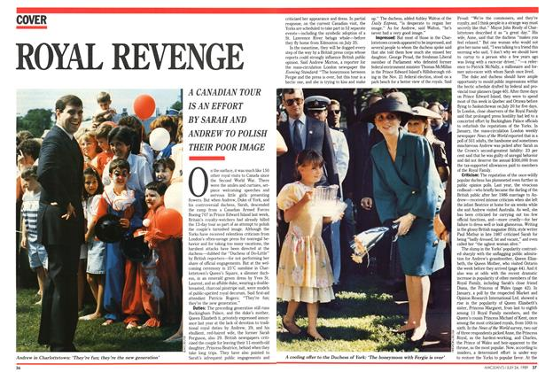 Article Preview: ROYAL REVENGE, July 1989 | Maclean's