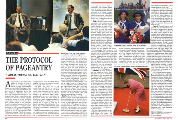Article Preview: THE PROTOCOL OF PAGEANTRY, July 1989 | Maclean's