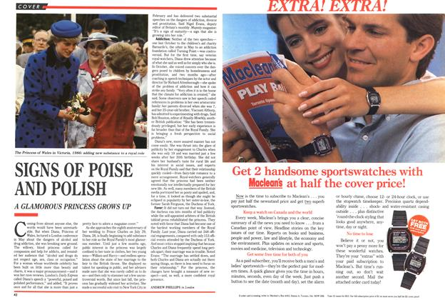 Article Preview: SIGNS OF POISE AND POLISH, July 1989 | Maclean's