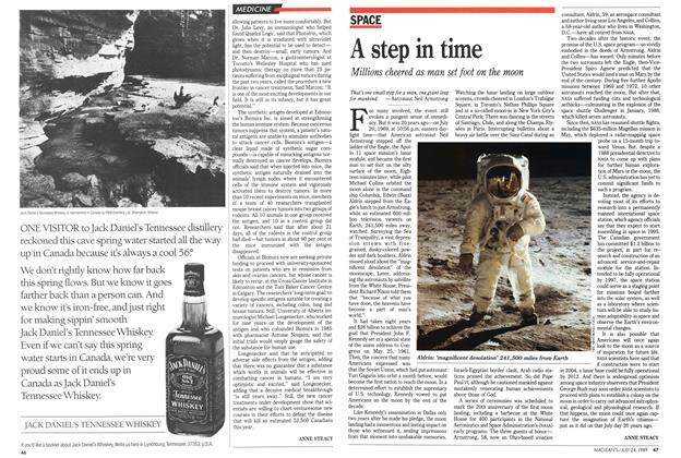 Article Preview: A step in time, July 1989 | Maclean's