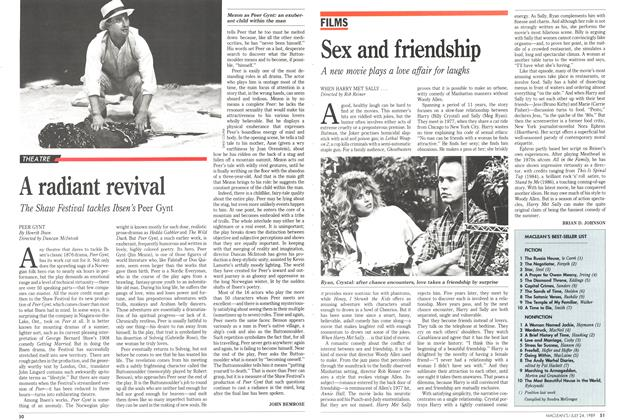 Article Preview: Sex and friendship, July 1989 | Maclean's