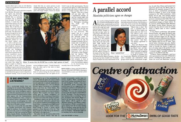 Article Preview: A parallel accord, July 1989 | Maclean's