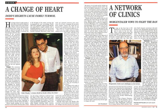 Article Preview: A CHANGE OF HEART, July 1989 | Maclean's