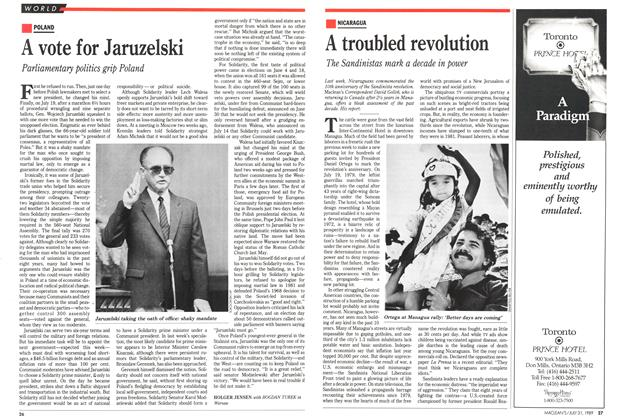 Article Preview: A vote for Jaruzelski, July 1989 | Maclean's