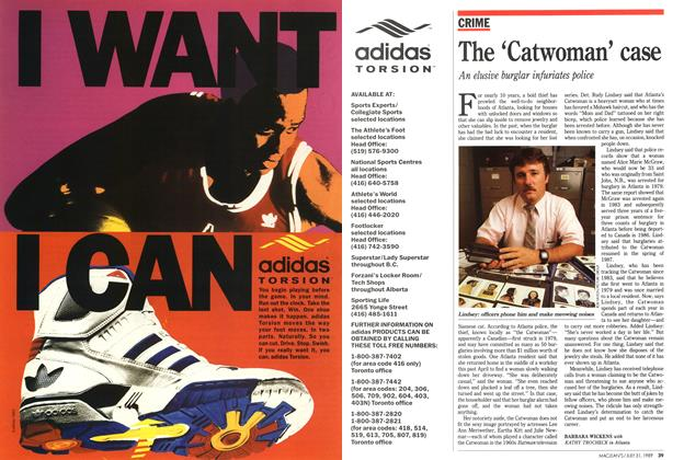 Article Preview: The 'Catwoman' case, July 1989 | Maclean's