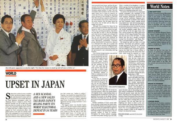 Article Preview: UPSET IN JAPAN, August 1989 | Maclean's