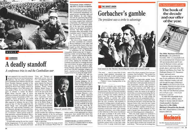 Article Preview: Gorbachev's gamble, August 1989 | Maclean's