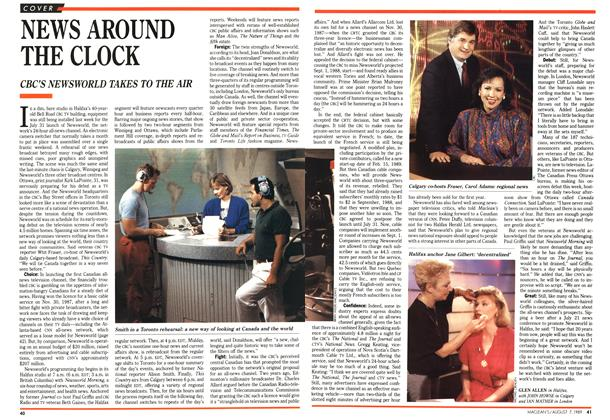 Article Preview: NEWS AROUND THE CLOCK, August 1989 | Maclean's