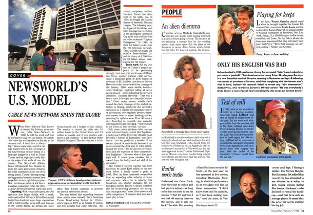Article Preview: NEWSWORLD'S U.S. MODEL, August 1989 | Maclean's
