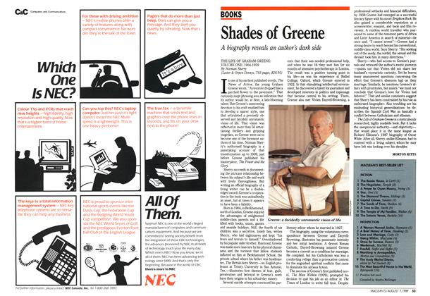 Article Preview: Shades of Greene, August 1989 | Maclean's