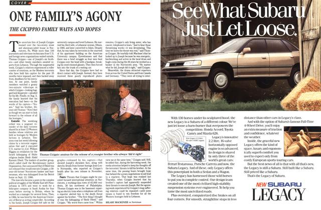 Article Preview: ONE FAMILY'S AGONY, August 1989 | Maclean's