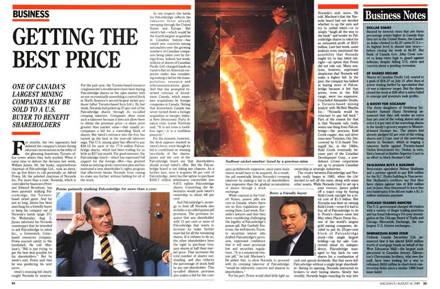 Article Preview: GETTING THE BEST PRICE, August 1989 | Maclean's