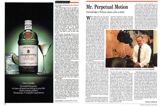 Article Preview: Mr. Perpetual Motion, August 1989 | Maclean's