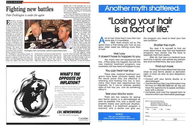 Article Preview: Fighting new battles, August 1989 | Maclean's