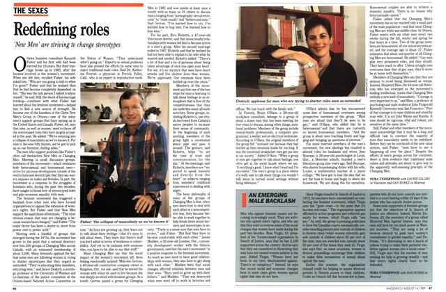Article Preview: Redefining roles, August 1989 | Maclean's
