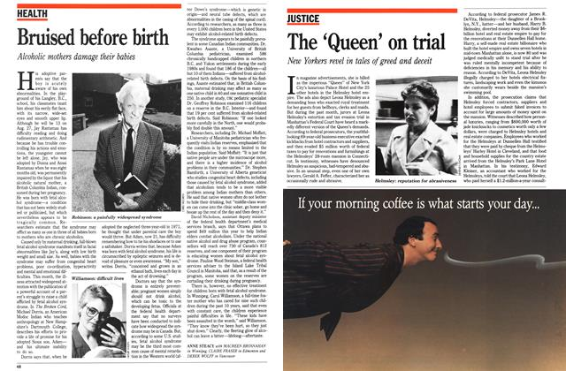 Article Preview: The 'Queen' on trial, August 1989   Maclean's