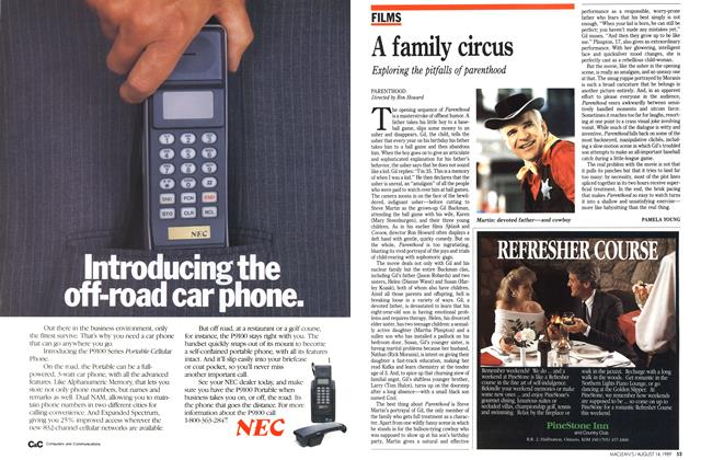 Article Preview: A family circus, August 1989 | Maclean's