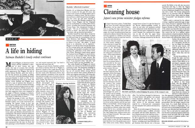 Article Preview: Cleaning house, August 1989 | Maclean's