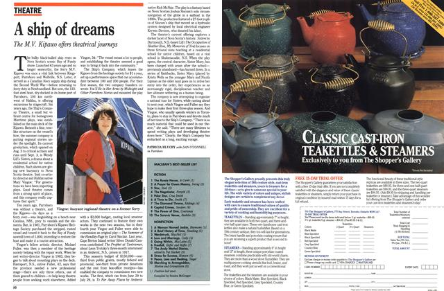 Article Preview: A ship of dreams, August 1989 | Maclean's
