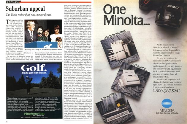 Article Preview: Suburban appeal, August 1989 | Maclean's