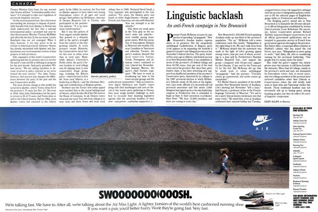 Article Preview: Linguistic backlash, August 1989 | Maclean's