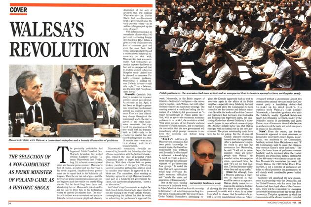 Article Preview: WALESA'S REVOLUTION, August 1989 | Maclean's