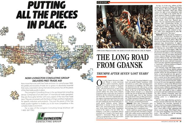 Article Preview: THE LONG ROAD FROM GDANSK, August 1989 | Maclean's