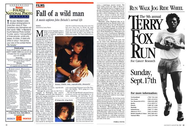 Article Preview: Fall of a wild man, August 1989 | Maclean's