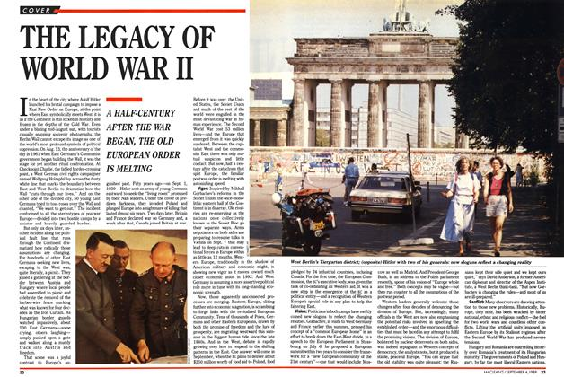 Article Preview: THE LEGACY OF WORLD WAR II, September 1989 | Maclean's