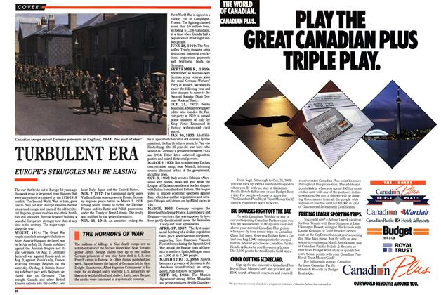 Article Preview: TURBULENT ERA, September 1989 | Maclean's