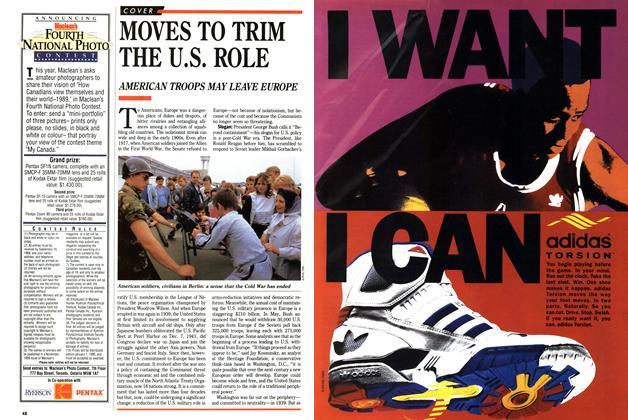 Article Preview: MOVES TO TRIM THE U.S. ROLE, September 1989 | Maclean's