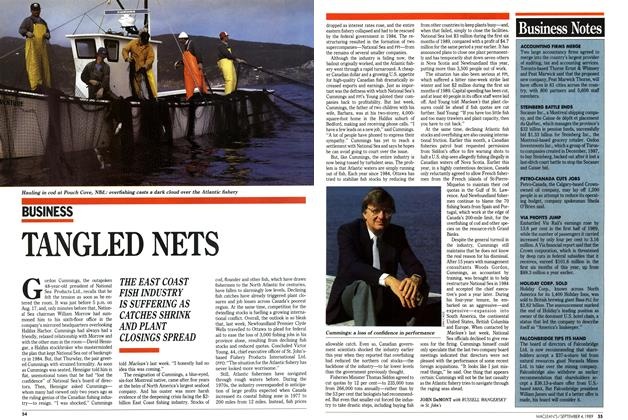 Article Preview: TANGLED NETS, September 1989 | Maclean's