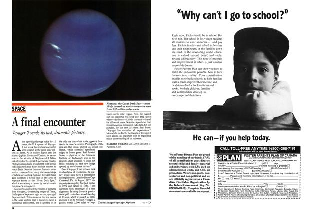 Article Preview: A final encounter, September 1989 | Maclean's