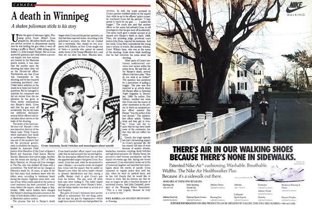 Article Preview: A death in Winnipeg, September 1989 | Maclean's