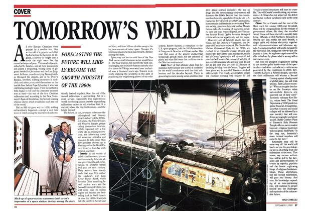 Article Preview: TOMORROW'S WORLD, September 1989 | Maclean's